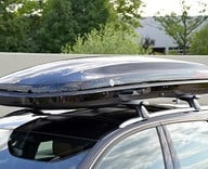 Black roof rack