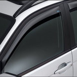 Wind deflector plain grey