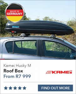 Medium Kamei Husky Roof Box