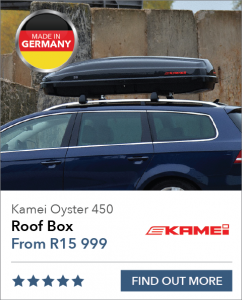 Kamei Oyster 450 Roof Box